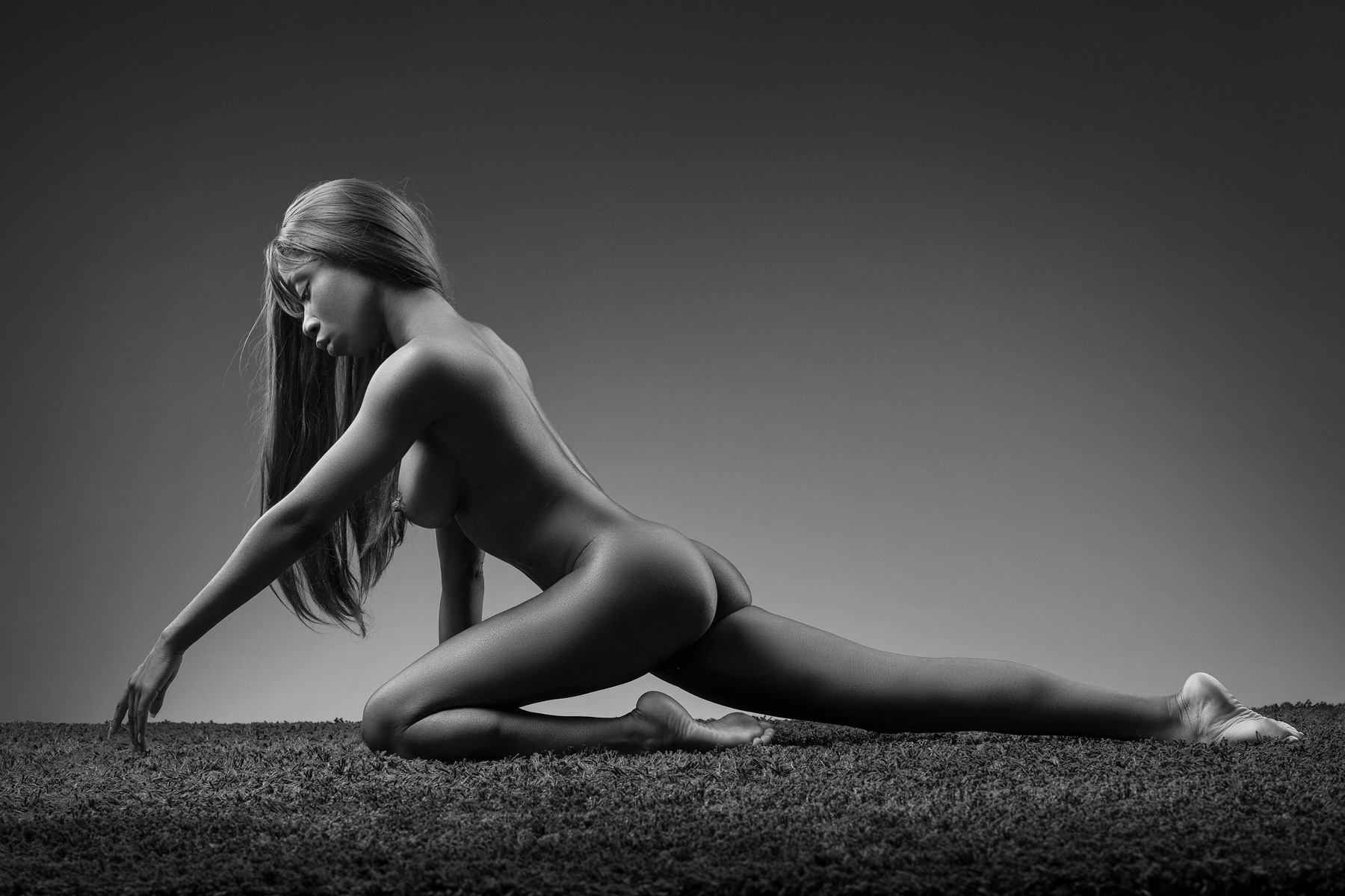 Nude photography Frau