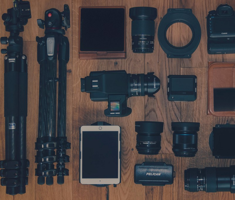 Recommended photography products